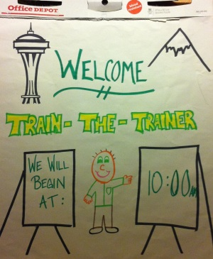 Flipchart - Welcome