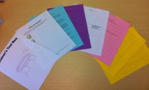 Multi Colored Handouts