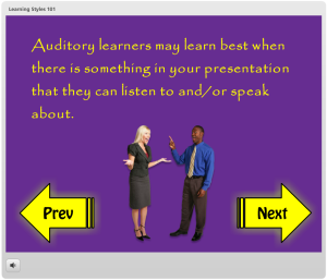 Learning Styles (Auditory)