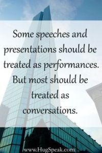 HugSpeak - Some speeches