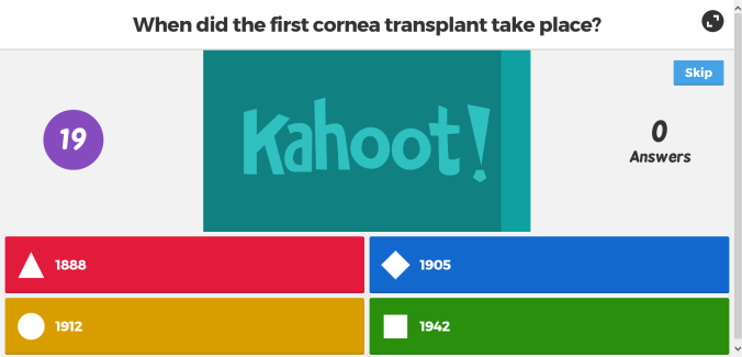 Kahoot Sample